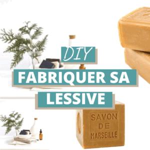 DIY-Fabriquer sa lessive